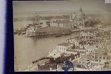 goßes altes Foto Albumin CDV Venezia Panorama Dal Campanile Di S. Marco um 1880
