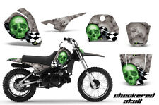 Dirt Bike Decal Graphic Kit Sticker Wrap For Yamaha PW80 PW 80 96-06 CHECKER G S