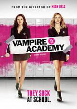 NEW DVD- VAMPIRE ACADEMY  Zoey Deutch, Lucy Fry, Danila Kozlovsky, Gabriel Byrne