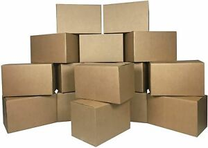 """uBoxes Moving Boxes Bundle of 16""""x10""""x10"""" (Small Boxes - Pack of 10)"""