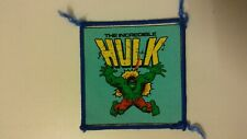 The Incredible Hulk vintage patch Sew On logo movie comic 2