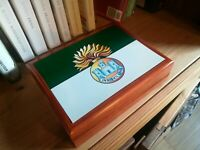 Royal Inniskilling Fusiliers Premium Military Medals and Memorabilia Box,