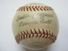 Vintage 1940s Spalding Official Regulation League Baseball Made in USA