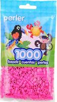 1000 Perler pink Color Iron On Fuse Beads: 80-19083