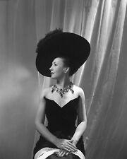 Cecil Beaton 1948 8x10 B&W Studio Fashion Photograph, Stamped