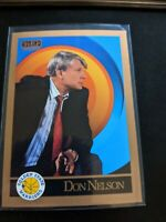 1990-91 Skybox Inaugural Basketball Coach Don Nelson Golden State Warriors