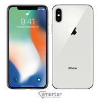 Apple iPhone X - 256GB - Silver - Fully Unlocked