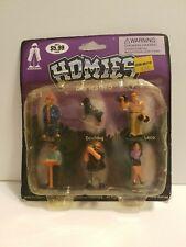 Homies 2003 Series 5 Figure Set 6 Pack Devil Dog Sealed Blister Carded Rare NEW