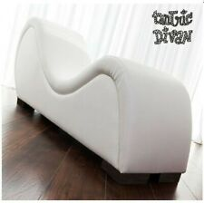WHITE Sex Tantra Sofa - Sex Furniture, Sex Chair, Sex Sofa, Kamasutra Lovers Bed