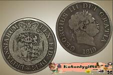 GB. - George III Half Crown  1819   ...  Vg