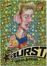 2018 Footy Stars Starburst Caricature YELLOW (SBY5) Harris ANDREWS Brisbane