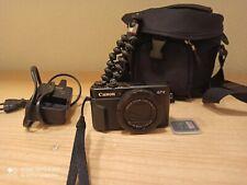 Canon PowerShot G7 X Mark II 20.1MP Digitalkamera - Schwarz