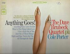 DAVE BRUBECK PLAYS COLE PORTER-COLUMBIA RECORDS-ANYTHING GOES-STEREO-NM