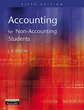 Accounting for Non-accounting Students, J.R. Dyson | Paperback Book | Acceptable