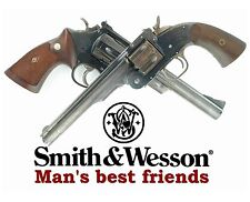 Smith & Wesson Firearms / Guns Man's Best Friend 8 x 10 GLOSSY Photo Picture