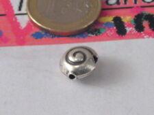 1 chiocciolina in argento 925 provenienza  indonesia di 9x6 mm