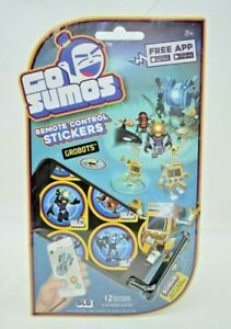 Super Lame Games - Go Sumos - Remote Control AR Stickers - Grobots (New)