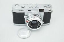 Ricoh 500 35mm Rangefinder Film Camera w/ Riken Ricomat 45mm 4.5cm f/2.8 Lens