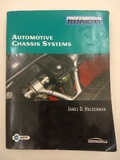 Automotive Chassis Systems 4th Edition Professional Technician Book and CD