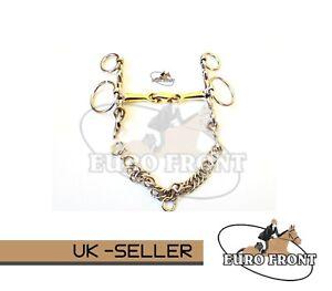 Loose Rings Copper Mix Lozenge Pelham (Eurofront Ltd ® Horse Bits)