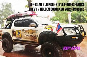 Jungle OFF-ROAD 4x4 Fender Flares CHEVROLET HOLDEN COLORADO 2012 2014-2016