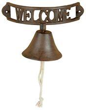 Esschert Design Campanello Welcome ghisa 21 5x11 5x12 9cm Stile Rustico Bell
