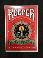 Bicycle Ellusionist RED Keepers Deck by Adam Wilber US Playing Cards Magic Poker