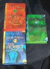 DER HERR DER RINGE Tolkien HOBBIT DAS SILMARILLION farbiger Schnitt Paket Versan