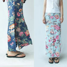 Unbranded Machine Washable Floral Maxi Skirts for Women