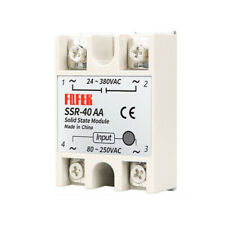 Single Phase Ssr Solid State Relay Ssr 10aa 100aa 3 32v Load 24 380v
