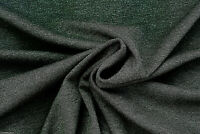 DARK GREY OTTOMAN DOUBLE JERSEY COTTON BLEND PREMIUM QUALITY MADE IN ITALY C73