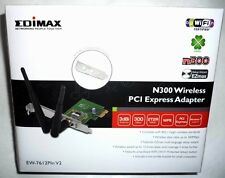 PCI Express WLAN Card EDIMAX EW-7612PIn V2 Steckkarte Stick 300Mbit WLAN Adapter