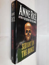 Servant Of The Bones by Anne Rice HB FIRST UK EDITION 1996