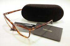 Tom Ford Authentic Eyeglasses Frame TF5267 053 Light Havana Brown Italy Made