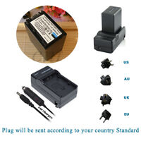 NP-FV100 FV100 Battery / Charger for SONY HandyCam DCR-SX85 DCR-SR88 HDR-CX760