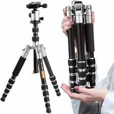 K&F Concept Camera Tripod Reflexed Center Column Mini Type + Ball Head for DSLR