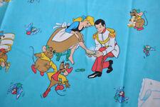 Very rare Disney CTI flat sheet / pillowcase /fitted sheet /bolster cinderella
