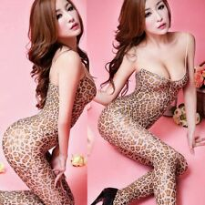 Crotch Body Stocking Lingerie Nightwear Bodysuit Jumpsuits Catsuit Tights