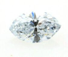 Blue Diamond - 0.09ct Natural Loose Fancy Faint Blue Color Diamond GIA Marquise