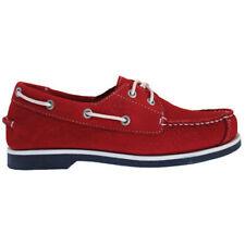 Ropa, calzado y complementos de niño rojas de piel