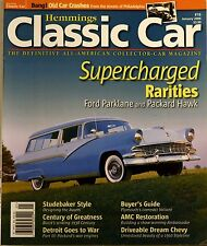 Magazine Hemmings Classic Car #16 January 2006 Ford Parklane and Packard Hawk