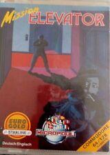 Mission Elevator (Eurogold 1986) Commodore C64 (Box, Tape, Manual) 100% ok