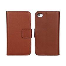 Housses et coques anti-chocs marron simples pour téléphone mobile et assistant personnel (PDA)