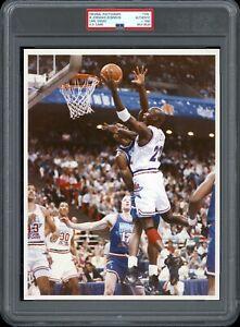 Michael Jordan 1992 All-Star Game NBA Type 1 Original Color Photo PSA/DNA