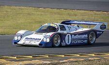 1986 Porsche 962 Rothmans Group C Vintage Classic Race Car Photo CA-1000