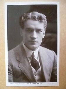 Postcard- Theater Actors MR BERTRAM WALLIS, No. 2387 C (Rotary Photographic)