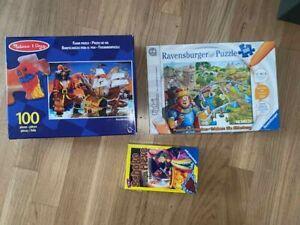 Melissa &D Piraten Puzzle 100 Teile, TIP TOI Die Ritterburg, TOP