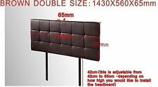 Brown Double Headboards & Footboards for Beds