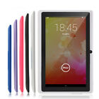 "7"" HD Unlocked Tablet PC 8GB Wi-Fi Quad Core Google Android 4.4 Tablet Kids Gift"