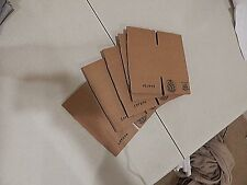 ULINE 5x5x5 Corrugated Cardboard Shipping Packing Boxes 5 pieces